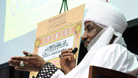Emir of Kano speaking